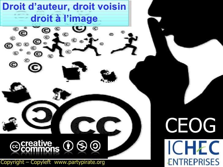 CEOG DROIT COURS N°4 Propriété intellectuelle