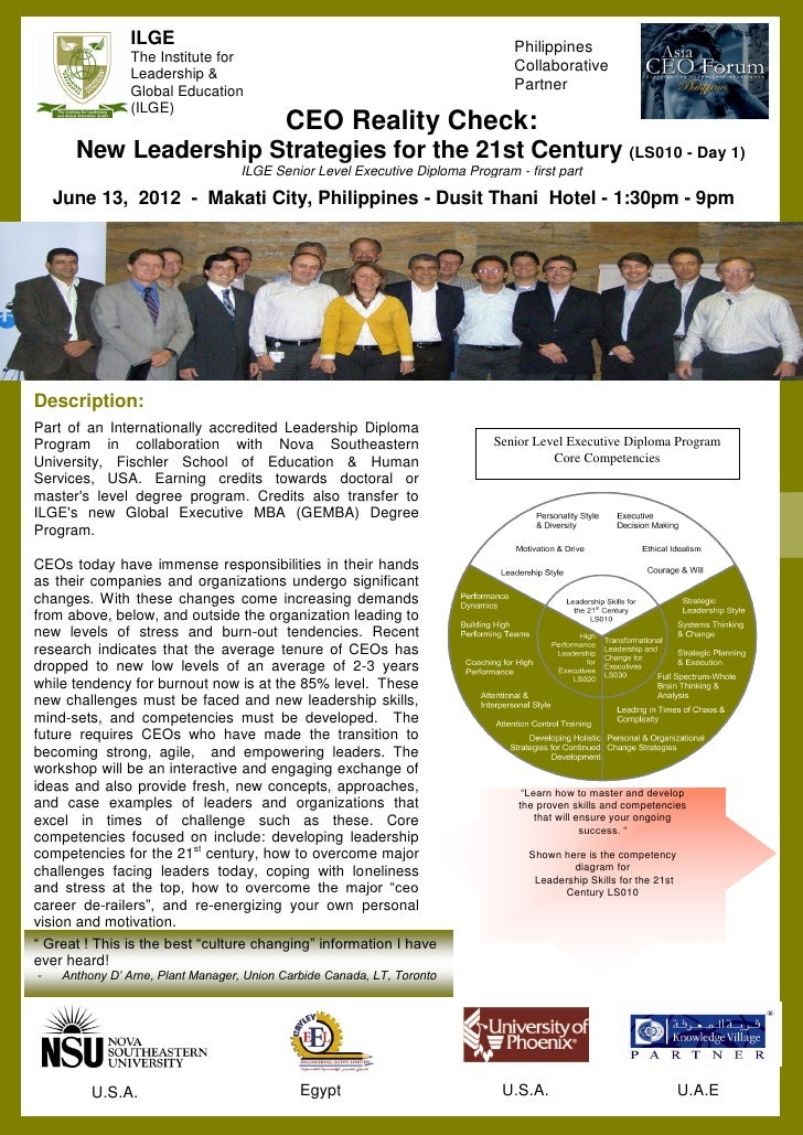 ILGE                                                            Philippines                The Institute for              ...