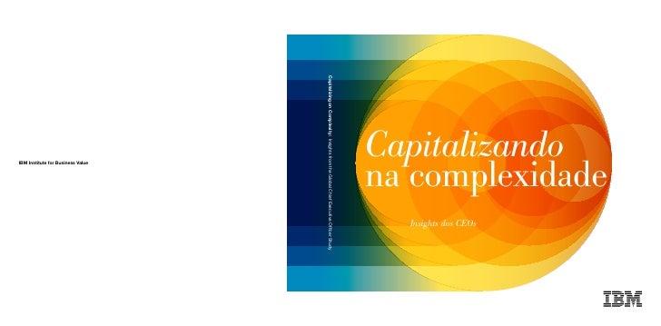 Capitalizandona complexidade  Insights dos CEOs