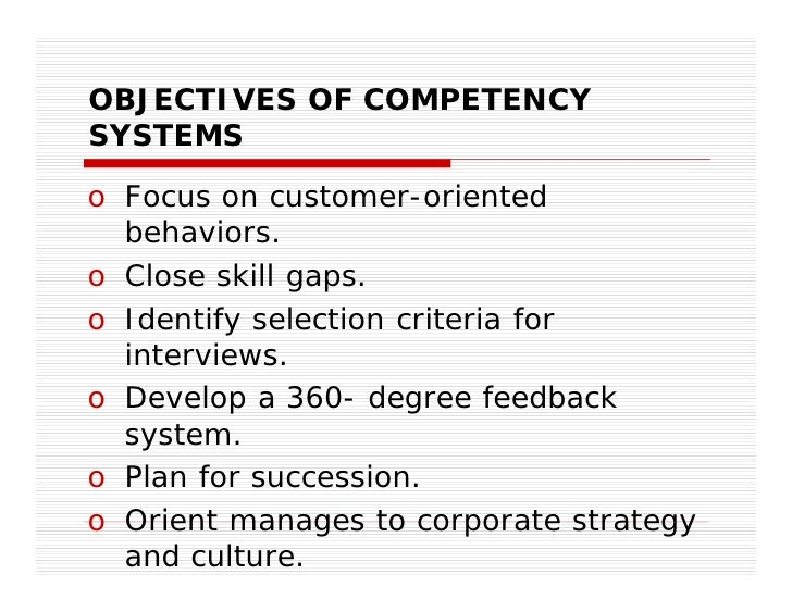 succession planning and competency modeling