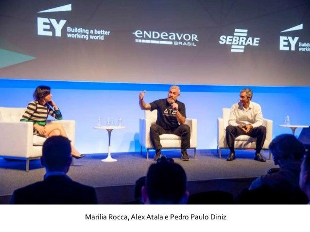 Marília Rocca, Alex Atala e Pedro Paulo Diniz
