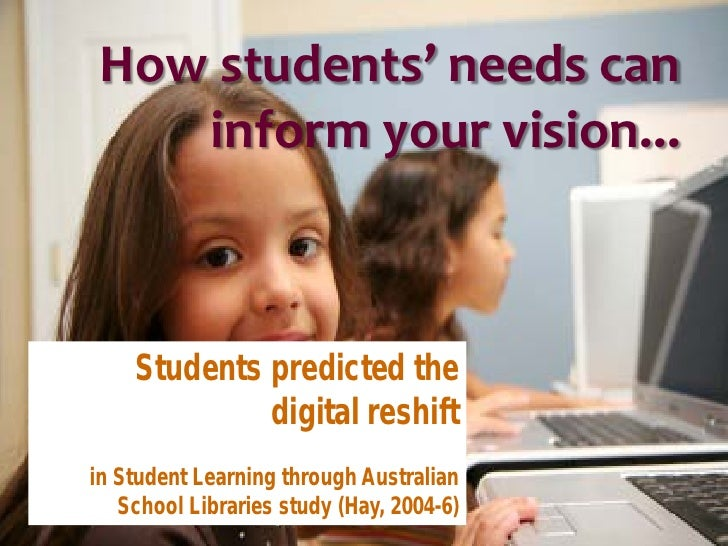 """""""Flexible access to computers, printers, internet and other resources, including teaching expertise, before school and at ..."""