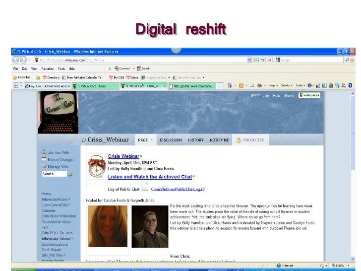 Digital reshift