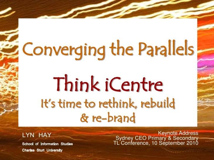 Keynote Address, Sydney CEO TL Conference