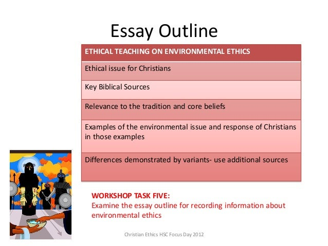 ceo sydney environmental ethics  essay outline christian ethics hsc focus day 2012 ethical teaching on environmental ethics ethical issue for