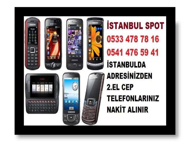 2.EL CEP TELEFONU ALINIR