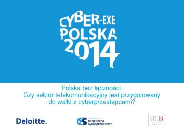 Polska bez łączności. Czy sektor telekomunikacyjny jest przygotowany do walki z cyberprzestępcami?