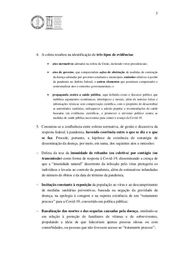 3 4. A coleta resultou na identificação de três tipos de evidências:  atos normativos adotados na esfera da União, inclui...