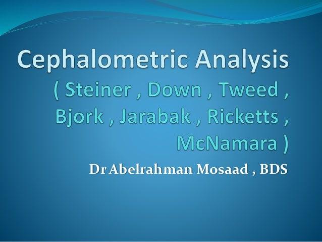 Dr Abelrahman Mosaad , BDS