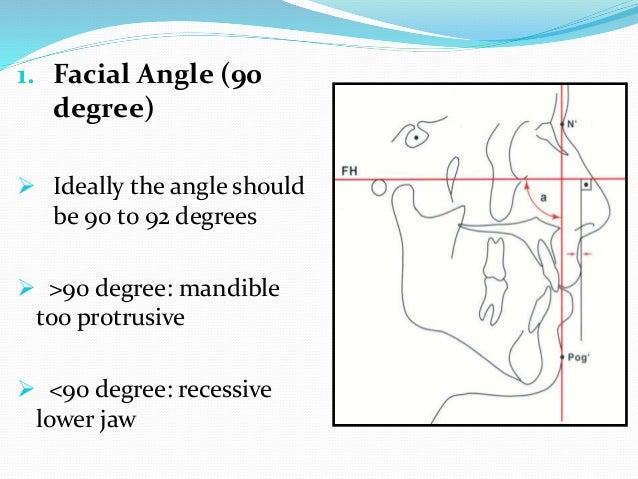5. Nose tip to H-line (12mm maximum)  Measurement should not exceed 12mm in individuals 14 yrs of age 6. Upper sulcus dep...