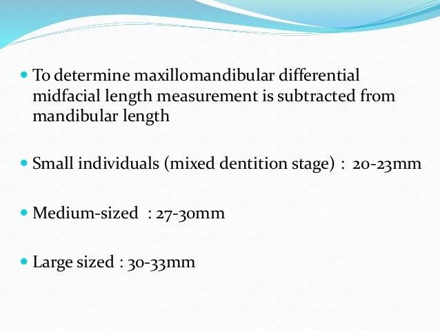  Vertical relationship  Vertical maxillary excess – downward & backward rotation of mandible, increasing lower anterior ...