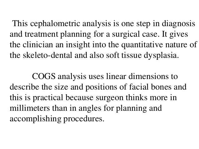 cephalometrics evaluation and interpretation redundancy 68 this cephalometric analysis