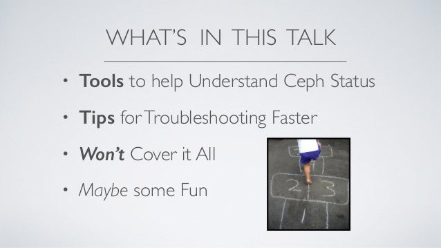 Living with a Cephalopod: Daily Care & Feeding of Ceph Storage Slide 2