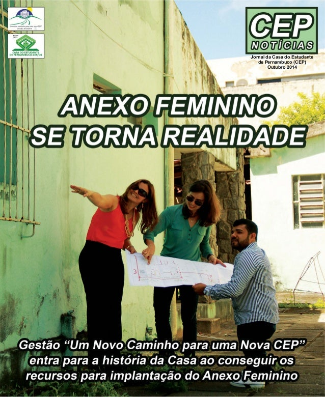 Jornal da Casa do Estudante  de Pernambuco (CEP)  Outubro 2014
