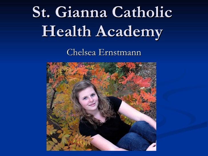 St. Gianna Catholic Health Academy Chelsea Ernstmann