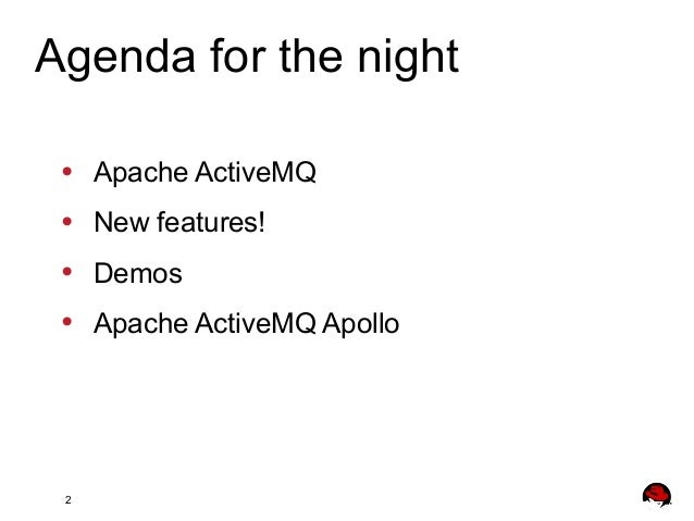 ActiveMQ 5 9 x new features