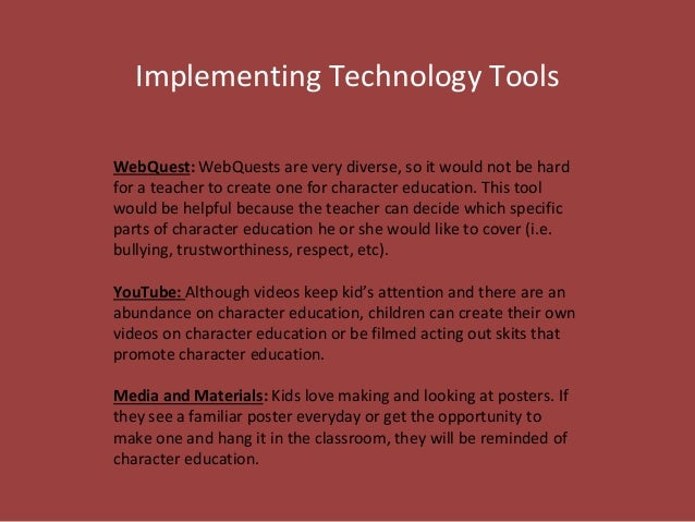 Character Education Power Point