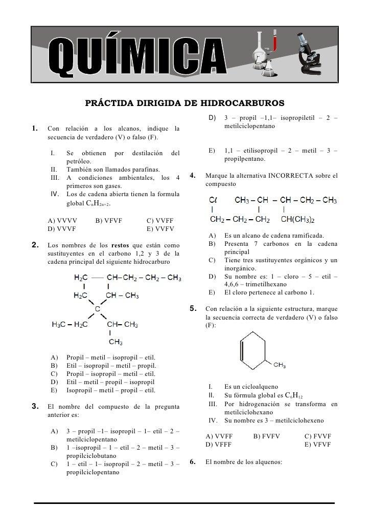 COLEGIO LA MERCED                                                                                Química                 P...