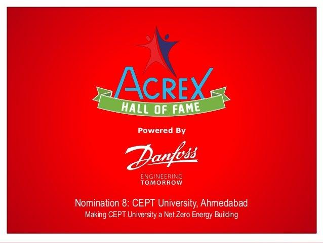 Cept University Ahmedabad Net Zero Energy Building