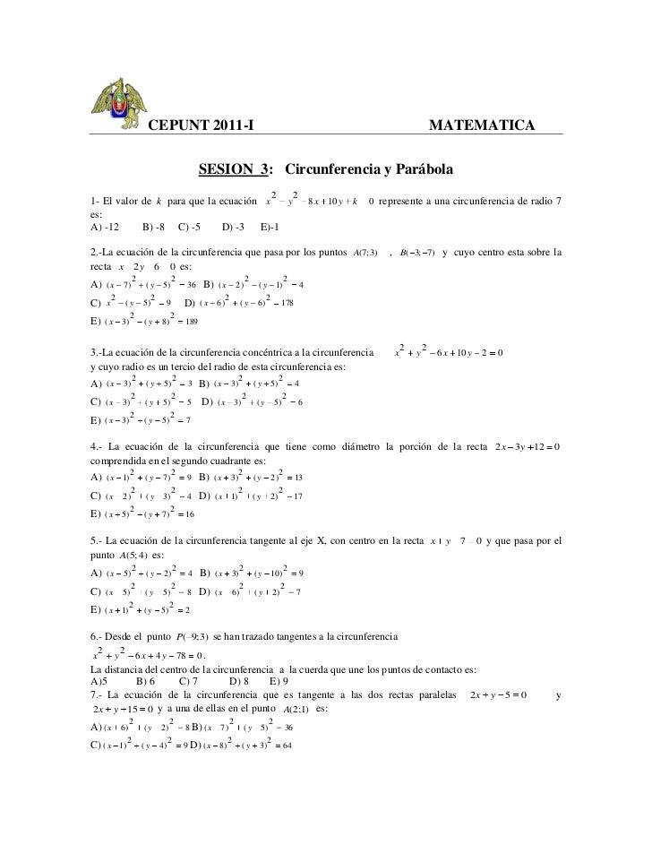 CEPUNT 2011-I                                                                                           MATEMATICA        ...