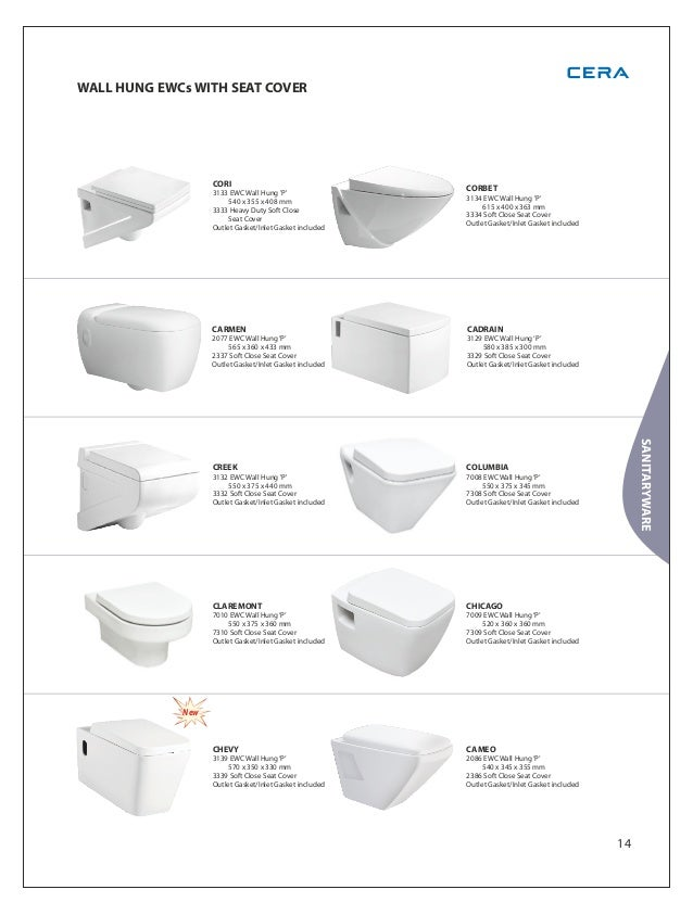 Cera Bathroom Fittings Catalogue With Price List 2018