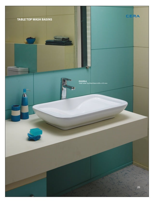 32 TABLE TOP WASH BASINS