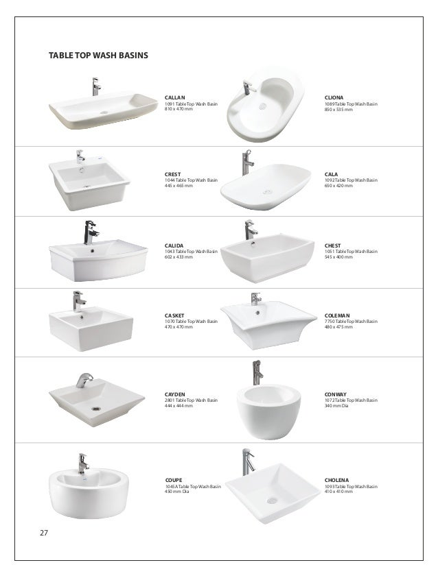 Wash Basin 695 X 415 Mm 26 33