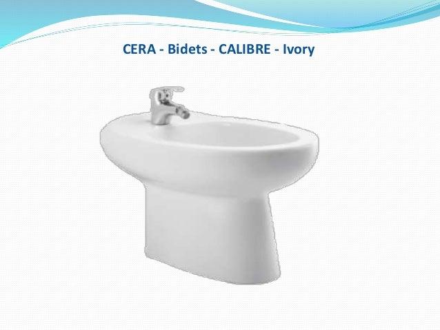 CERA - Bidets - CALIBRE - Ivory