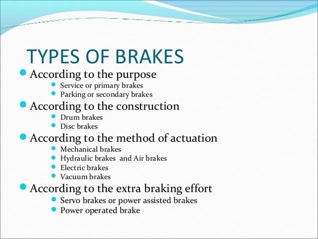 Types Of Brake Fade : Ceramic disc brakes