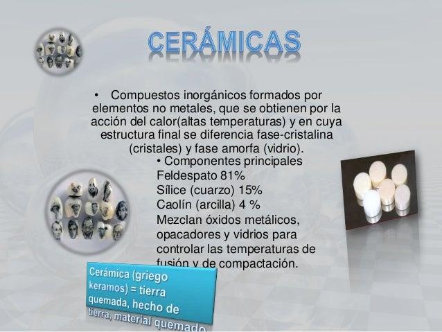 Ceramicas dentales for Que es ceramica