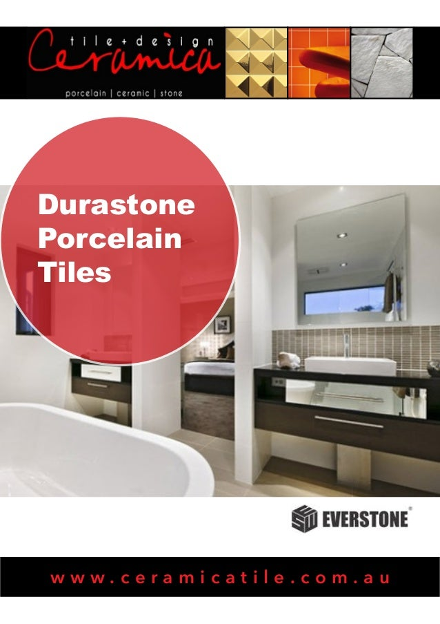 Durastone Porcelain Tiles  www.ceramicatile.com.au