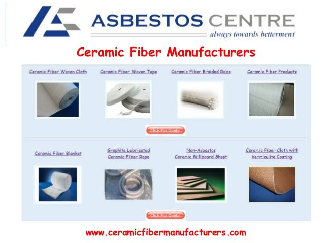 Ceramic Fiber Manufacturers  www.ceramicfibermanufacturers.com