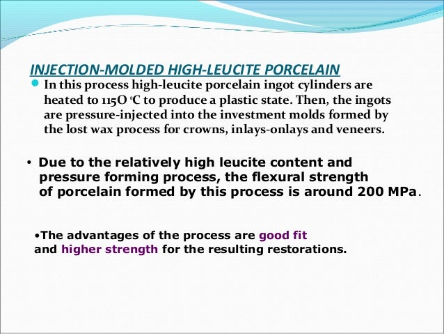 ADVANTAGES  negligible porosity levels  freedom of making an impression  reduced assistant time assosiatd with impressi...