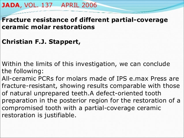 International Association for Dental Research (June 25-28, 2003) Effect of Sodium Content on the Mechanical Properties of ...