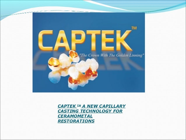 CAPTEK PTM Captek PTM platinum colored strips contain metal particles of less than 30 mm and binders. The strips come in ...
