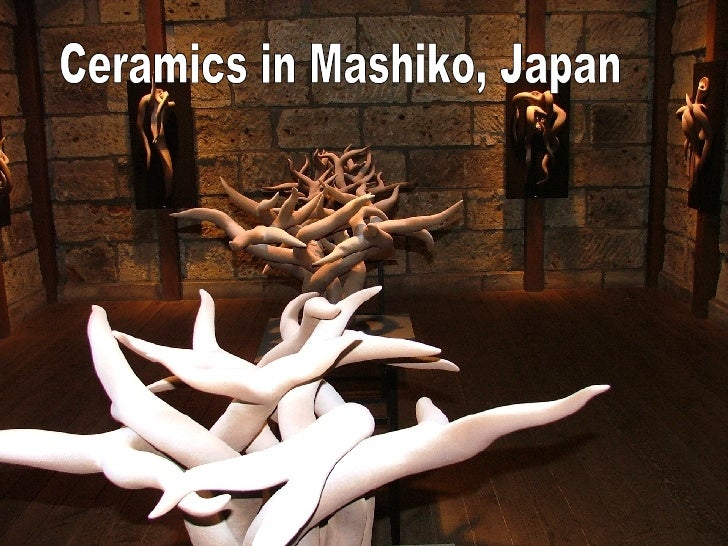 Ceramics in Mashiko, Japan
