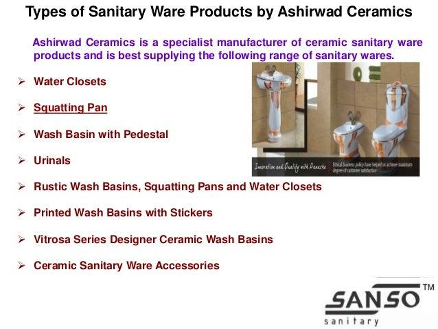 Ceramic Sanitary Ware Manufacturing In India By Ashirwad