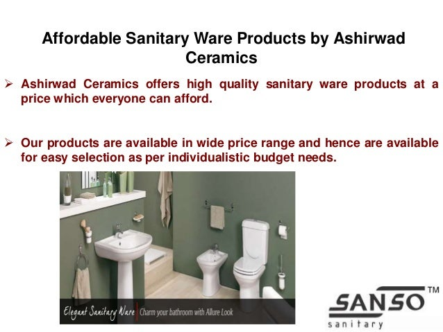 Ceramic Sanitary Ware Manufacturing In India By Ashirwad