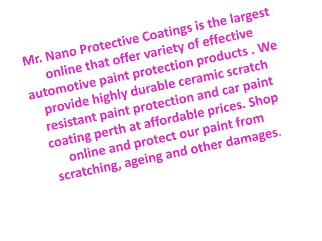 Ceramic Scratch Resistant Paint Protection - Ceramic tile protective coating
