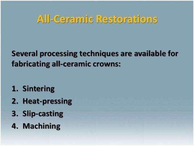 Alumina Ceramics Process Dental Ceramics Fraunhofer Ikts