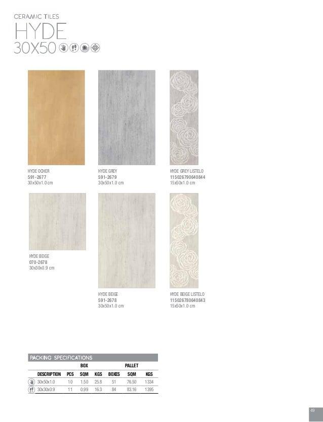 Ceramic tile catalogue