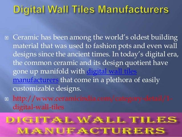 Ceramic Tiles Digital Wall Tiles Manufacturers Suppliers