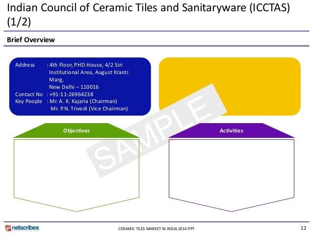 Market Research Report Ceramic Tiles Market In India