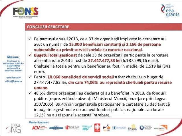 Capacitatea ONG-urilor din Regiunea NE in furnizarea serviciilor sociale versus disponibilitatea de contractare a autoritatilor locale si judetene Slide 3