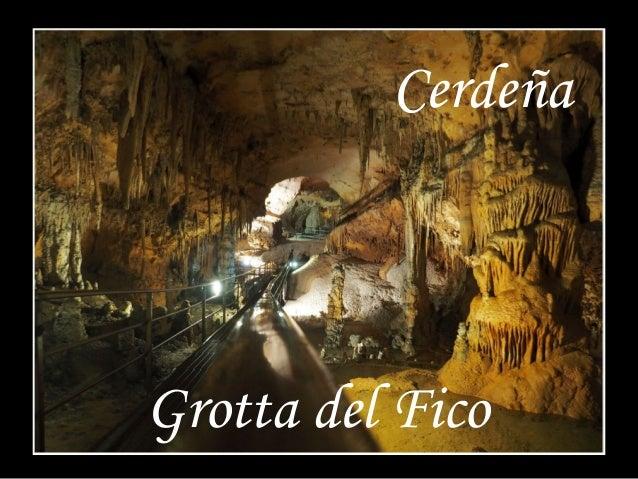 Cerdeña  Grotta del Fico