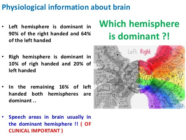 significance of the brain hemisphere and Opposed left and right brain hemisphere contributions to sexual drive: a multiple lesion  hemisphere lesions (primarily  the behavioral significance of this.