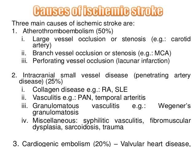 cerebrovascular accident, Skeleton