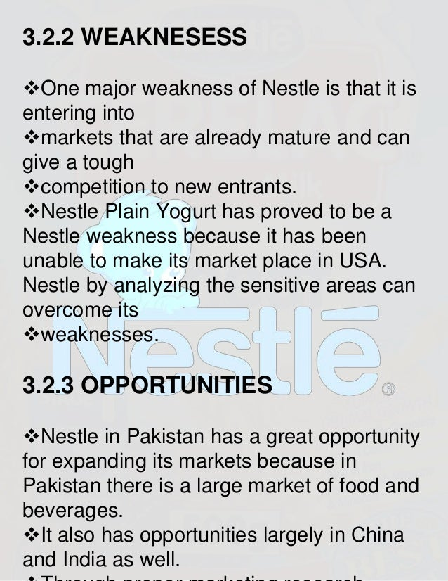 weakness of nestle Nestlé has expanded its ice cream empire by acquiring the mövenpick brand the vevey-based nestlé already held the licence for the important german market through its acquisition last year of the german-based schöller group that purchase it's a sign of weakness for mövenpick the new deal is.