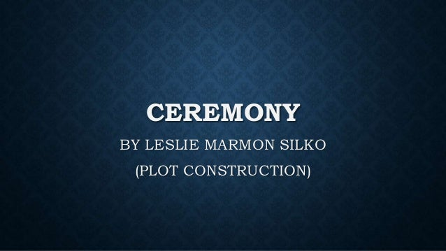 ceremony silko analysis