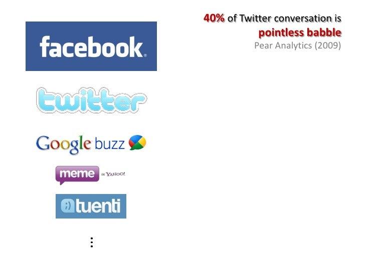 Overcoming Spammers in Twitter – A Tale of Five Algorithms Slide 3